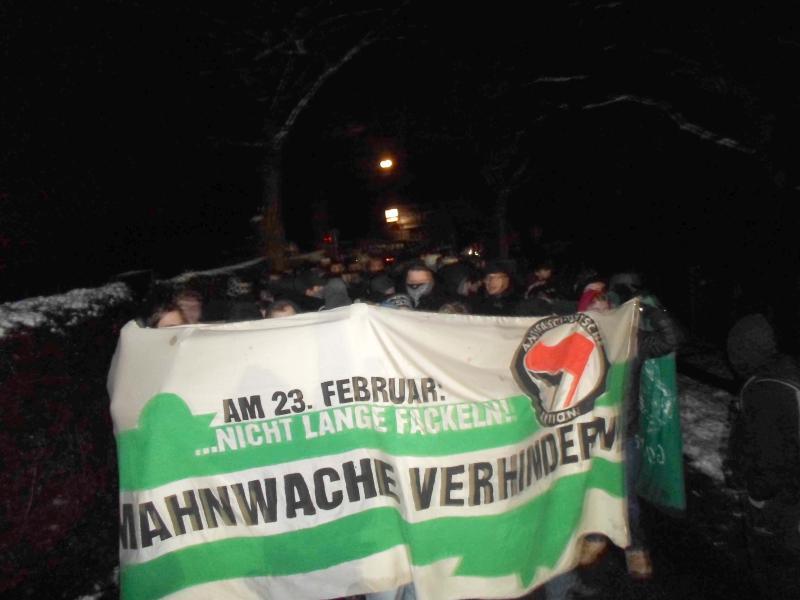 Proteste auf der Ostseite